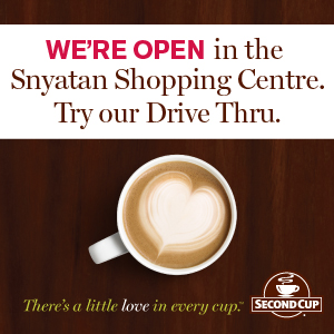 Second Cup Now Open in West Kelowna